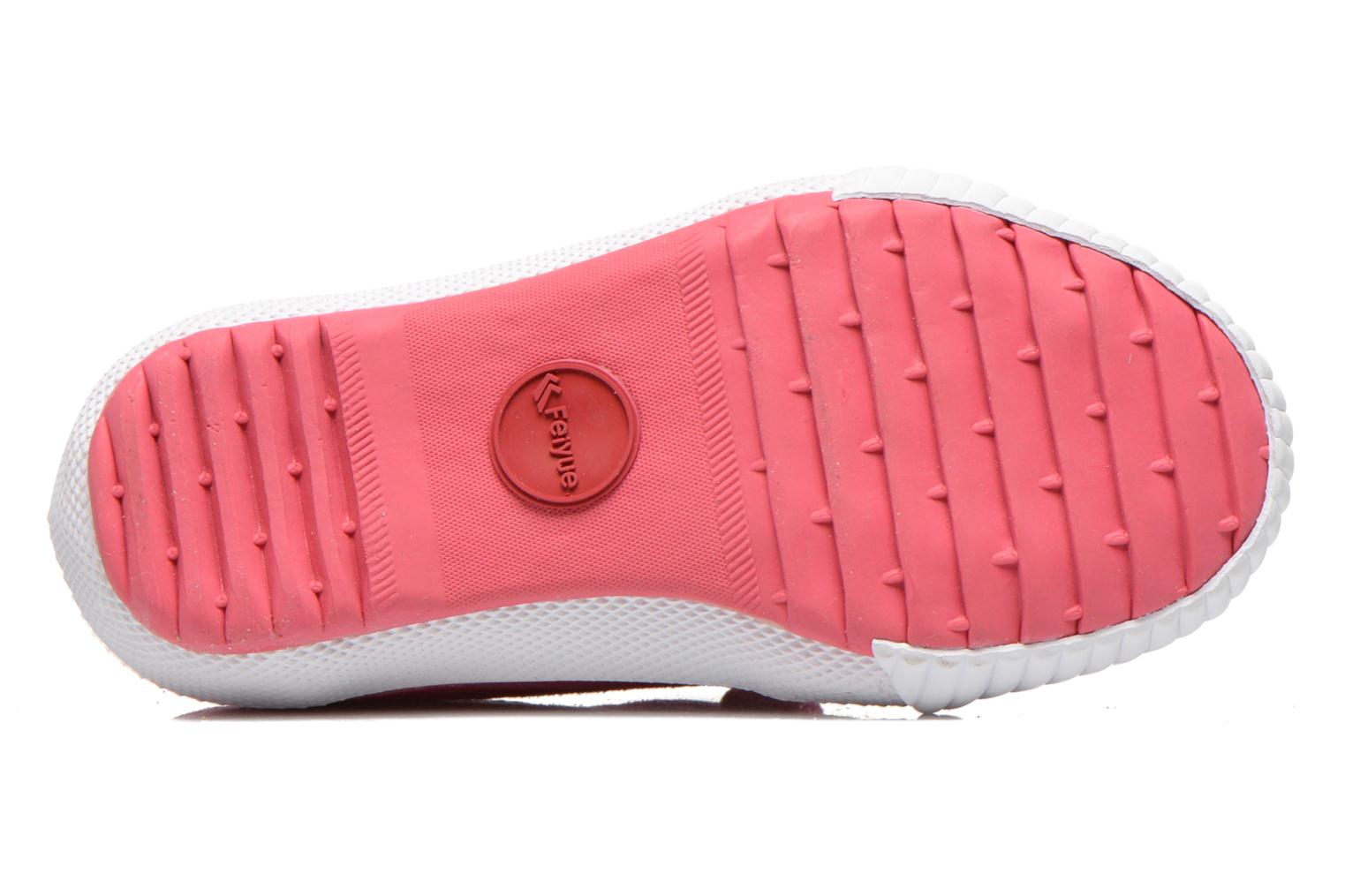 Trainers Feiyue Fe Lo Glitter Easy Pink view from above