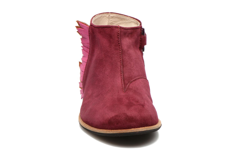 Bottines et boots Manuela de Juan Ingrid Bordeaux vue portées chaussures