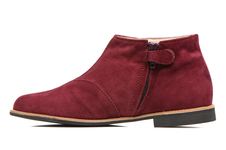Bottines et boots Manuela de Juan Ingrid Bordeaux vue face