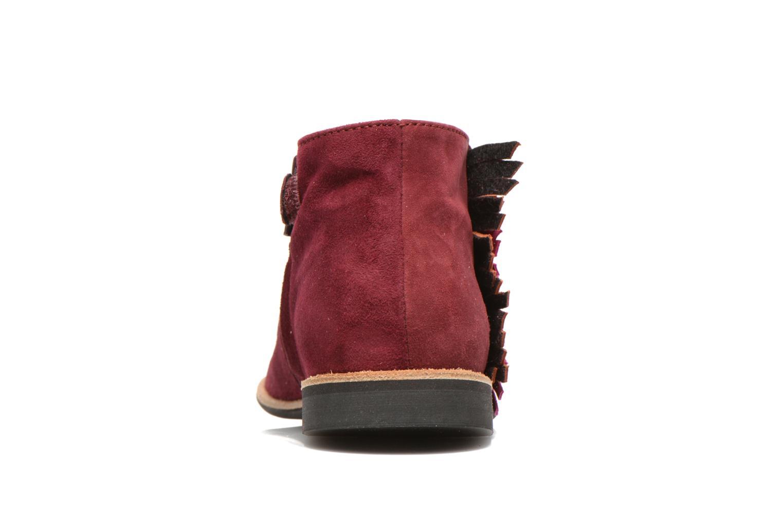Bottines et boots Manuela de Juan Ingrid Bordeaux vue droite