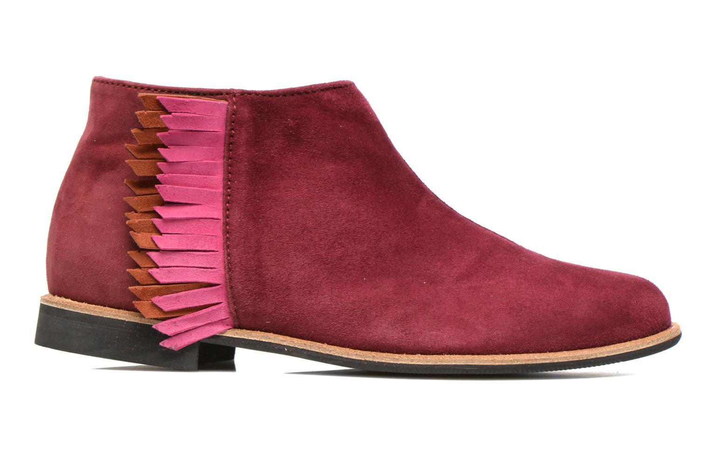 Stiefeletten & Boots Manuela de Juan Ingrid weinrot ansicht von hinten