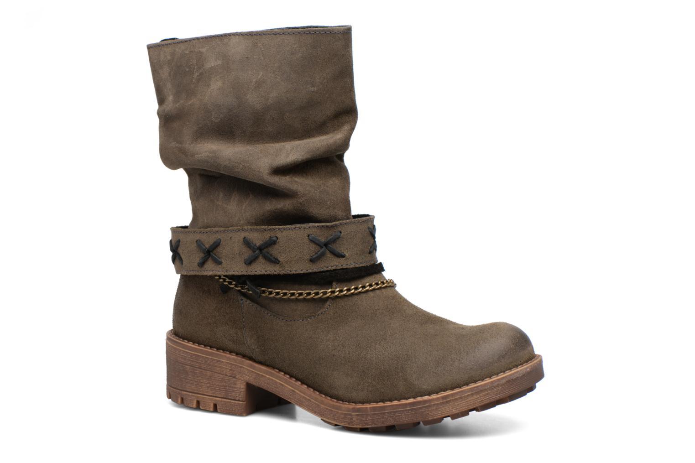 Boots en enkellaarsjes Coolway Angus Zwart detail