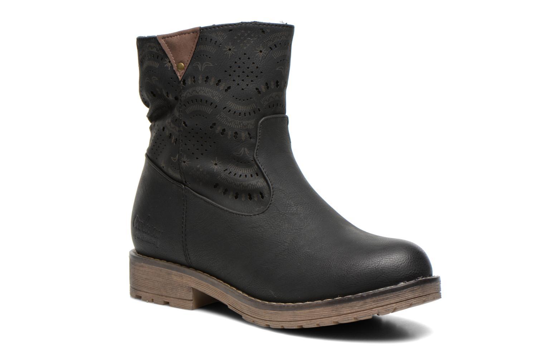 Bottines et boots Coolway Lasser Noir vue 3/4