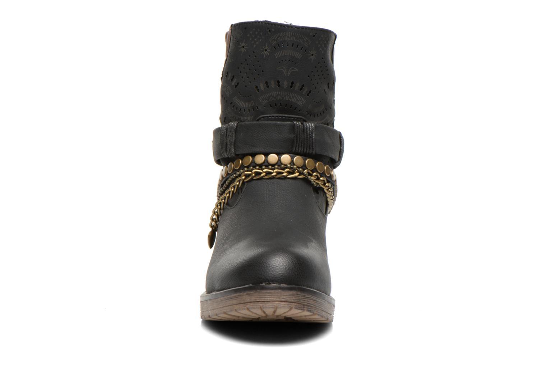 Bottines et boots Coolway Lasser Noir vue portées chaussures