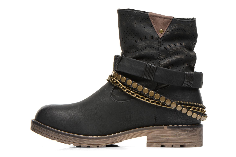 Bottines et boots Coolway Lasser Noir vue face