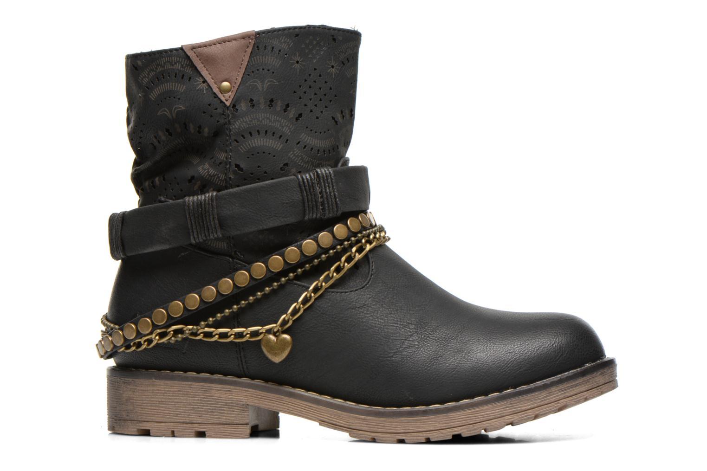 Bottines et boots Coolway Lasser Noir vue derrière