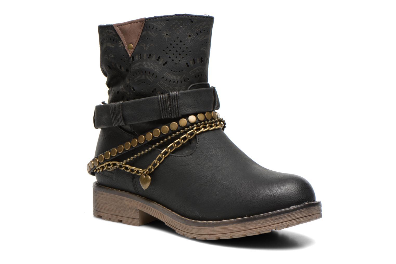 Bottines et boots Coolway Lasser Noir vue détail/paire