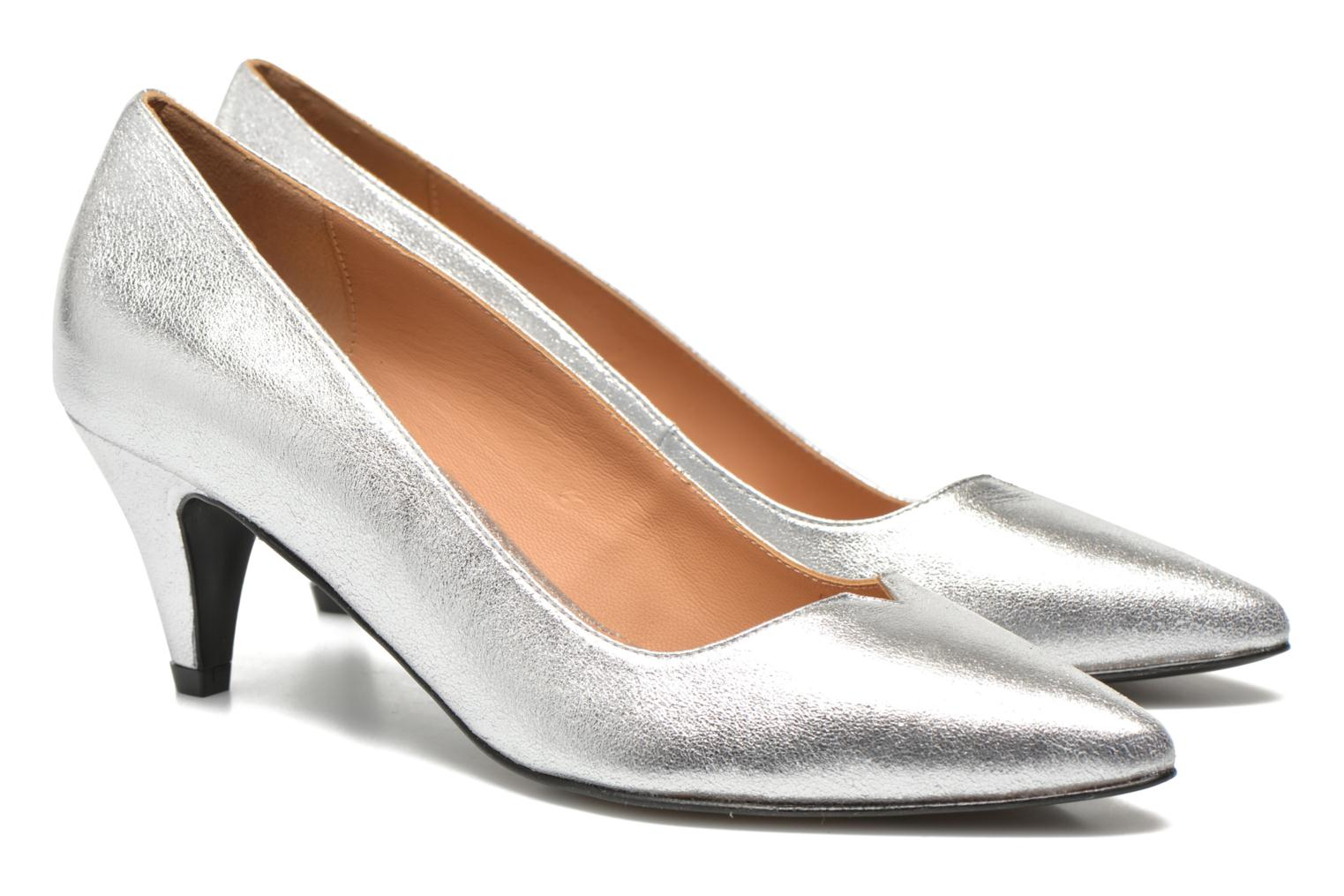High heels Made by SARENZA Donut hut #4 Silver view from the right