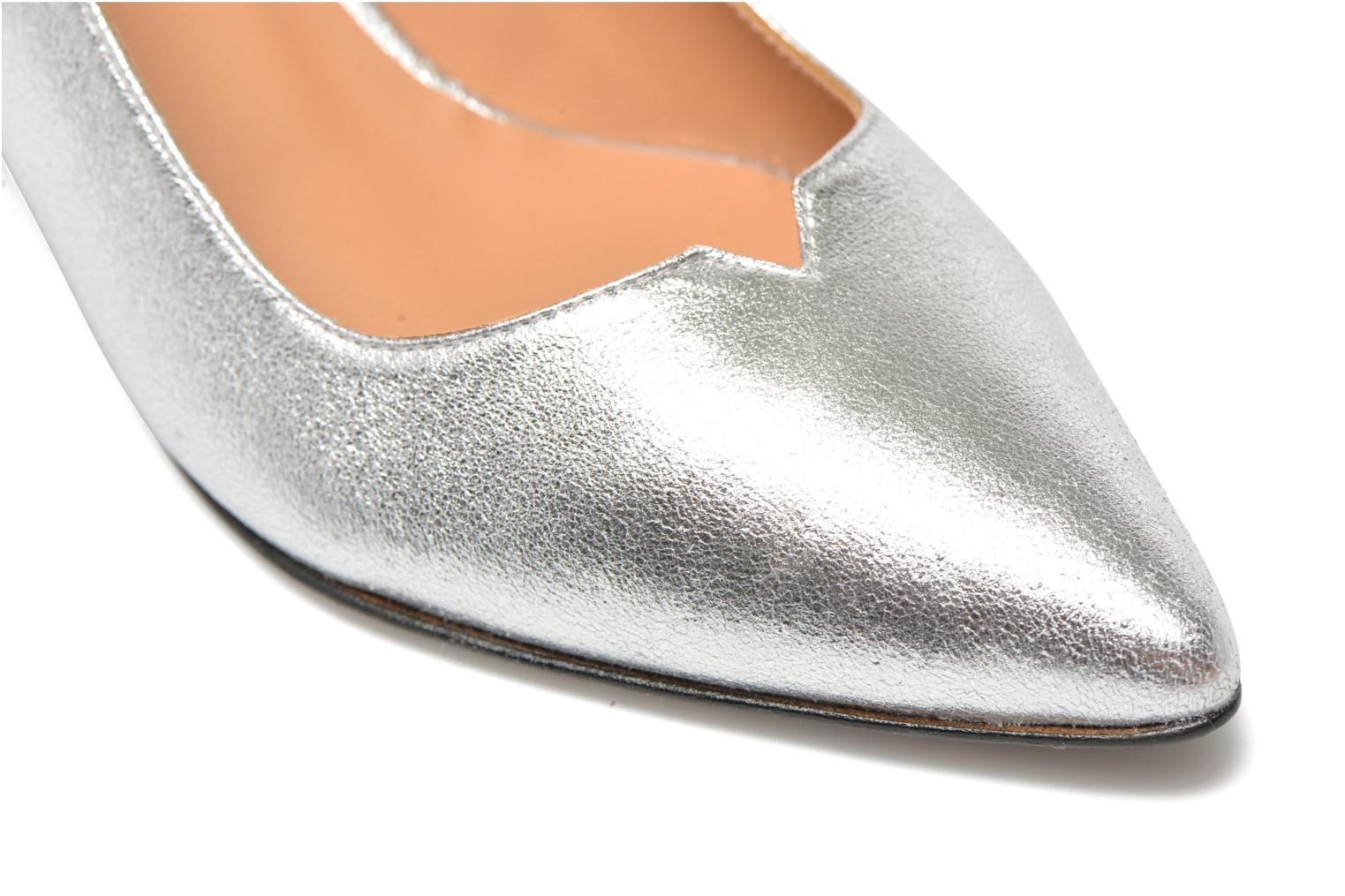 High heels Made by SARENZA Donut hut #4 Silver back view