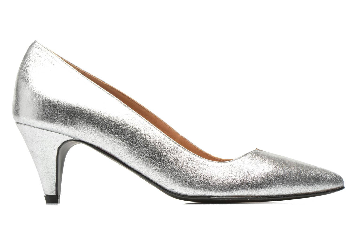 High heels Made by SARENZA Donut hut #4 Silver detailed view/ Pair view
