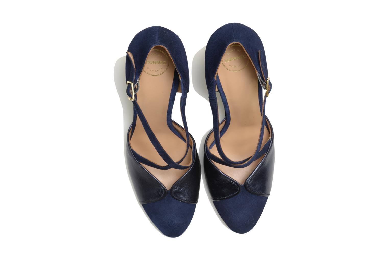 Escarpins Made by SARENZA Flore Thirties #2 Bleu vue portées chaussures