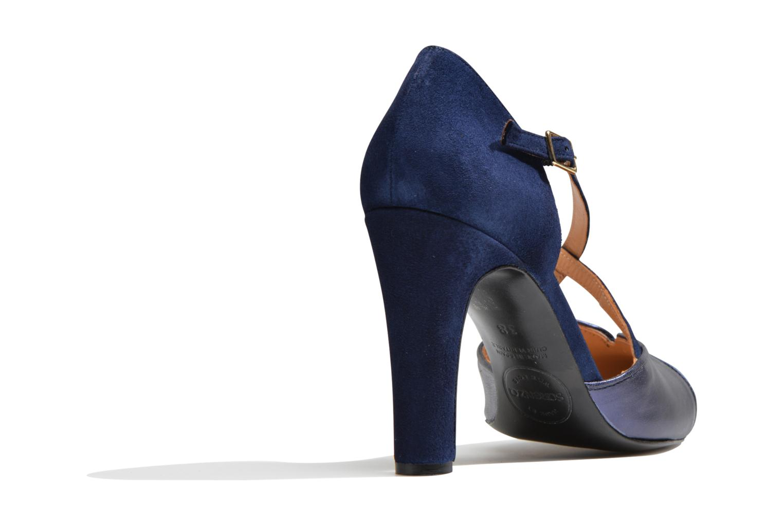 Escarpins Made by SARENZA Flore Thirties #2 Bleu vue face