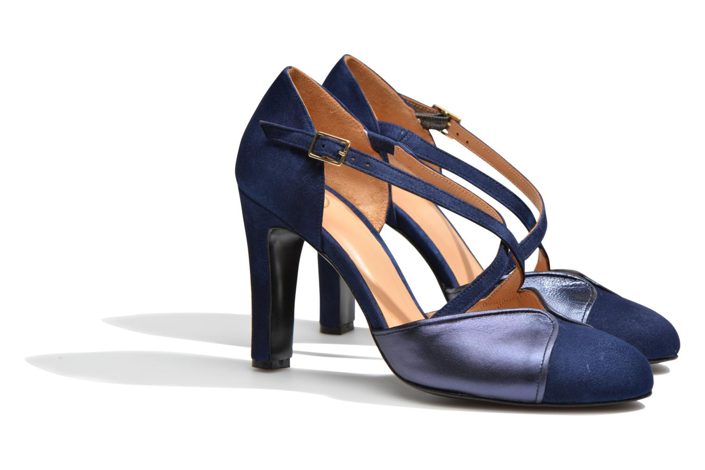 Escarpins Made by SARENZA Flore Thirties #2 Bleu vue derrière