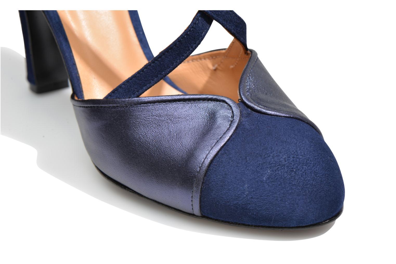 Escarpins Made by SARENZA Flore Thirties #2 Bleu vue gauche