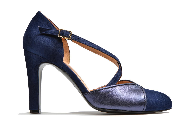 Escarpins Made by SARENZA Flore Thirties #2 Bleu vue détail/paire