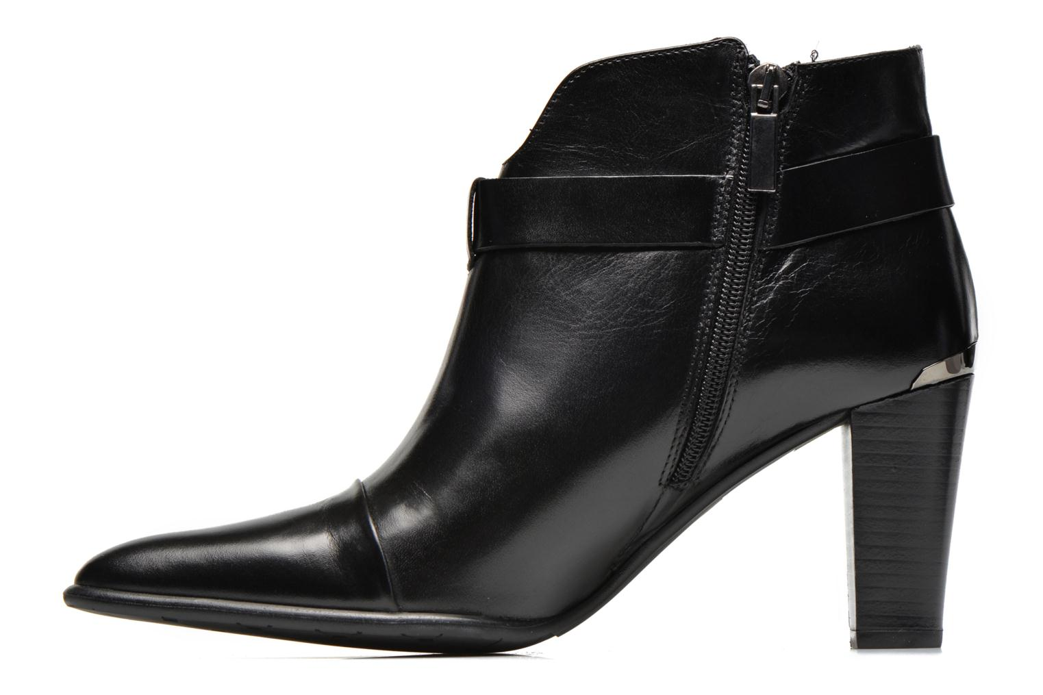 Ankle boots Perlato Pohub Black front view