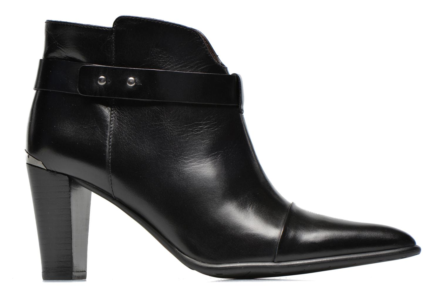 Ankle boots Perlato Pohub Black back view