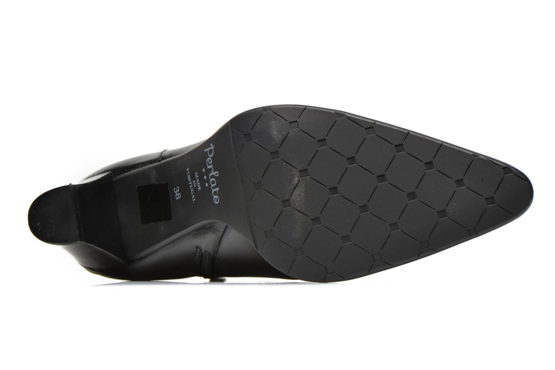Stiefeletten & Boots Perlato Pohub schwarz ansicht von oben