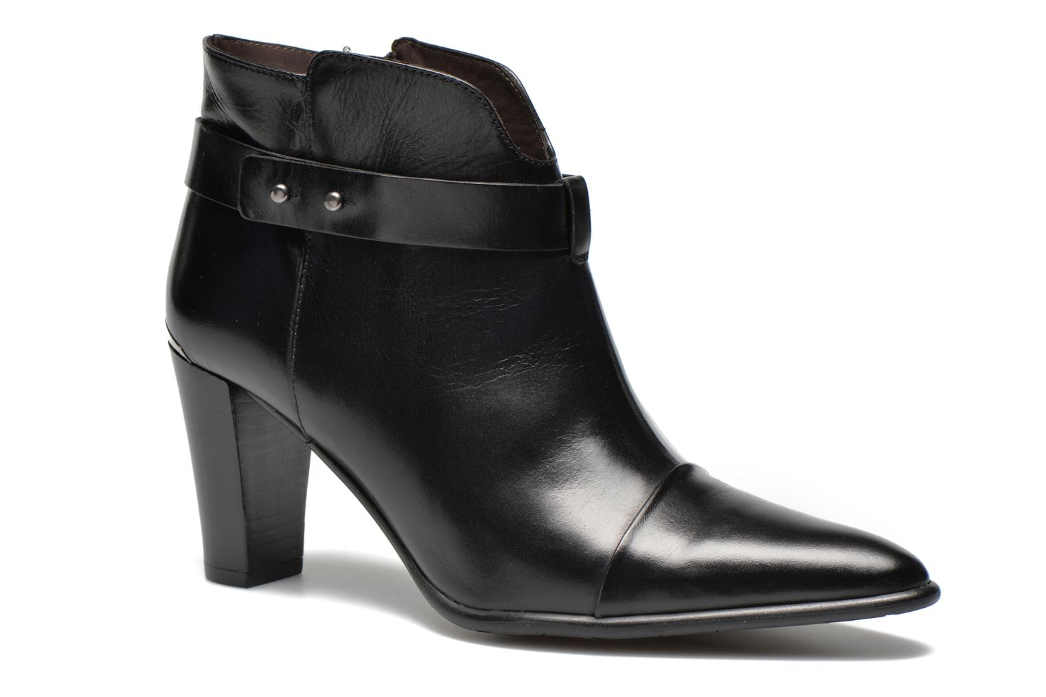 Ankle boots Perlato Pohub Black detailed view/ Pair view