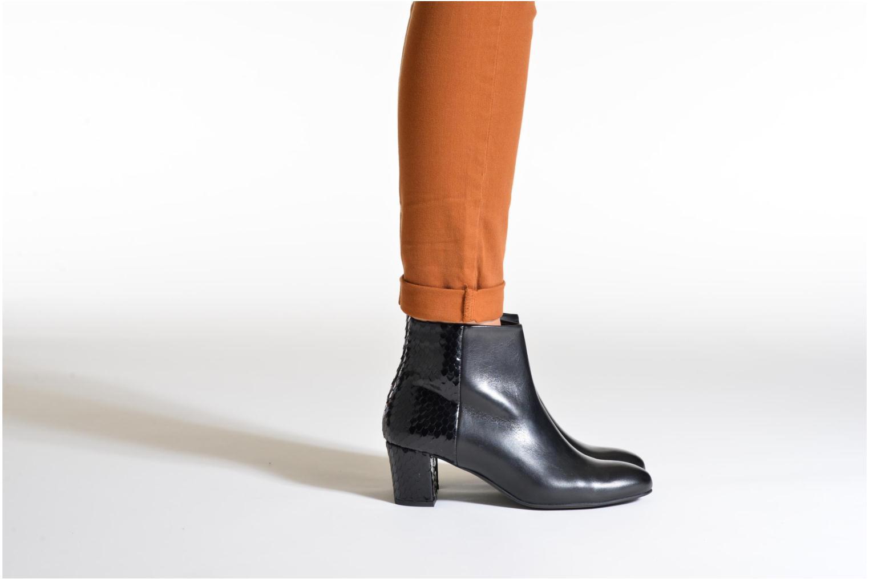 Bottines et boots Perlato Pivem Noir vue bas / vue portée sac