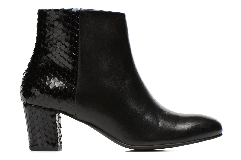 Bottines et boots Perlato Pivem Noir vue derrière