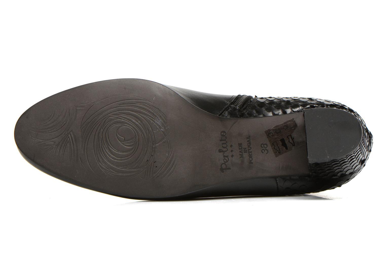 Bottines et boots Perlato Pivem Noir vue haut