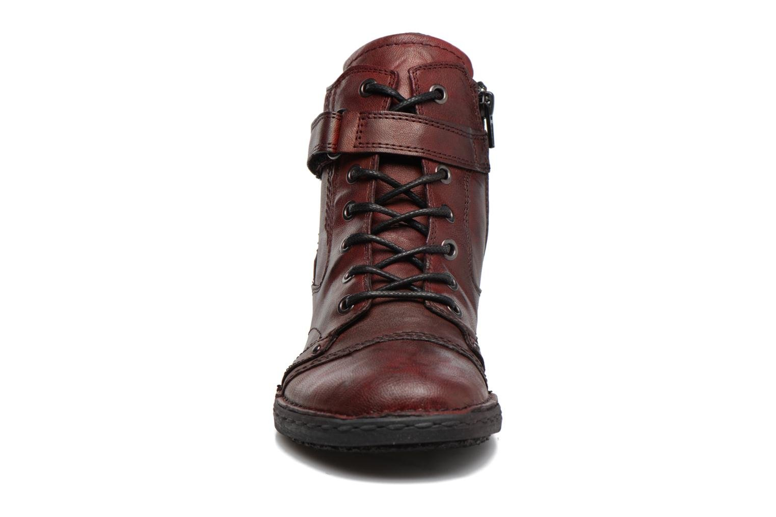 Ankle boots Khrio Rehayen Burgundy model view