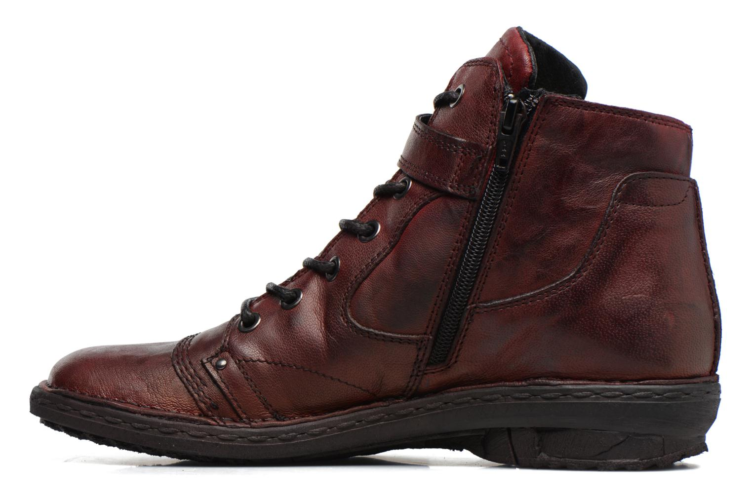 Ankle boots Khrio Rehayen Burgundy front view