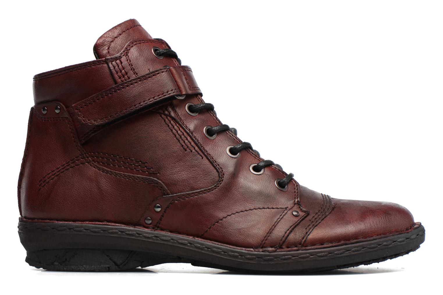 Ankle boots Khrio Rehayen Burgundy back view