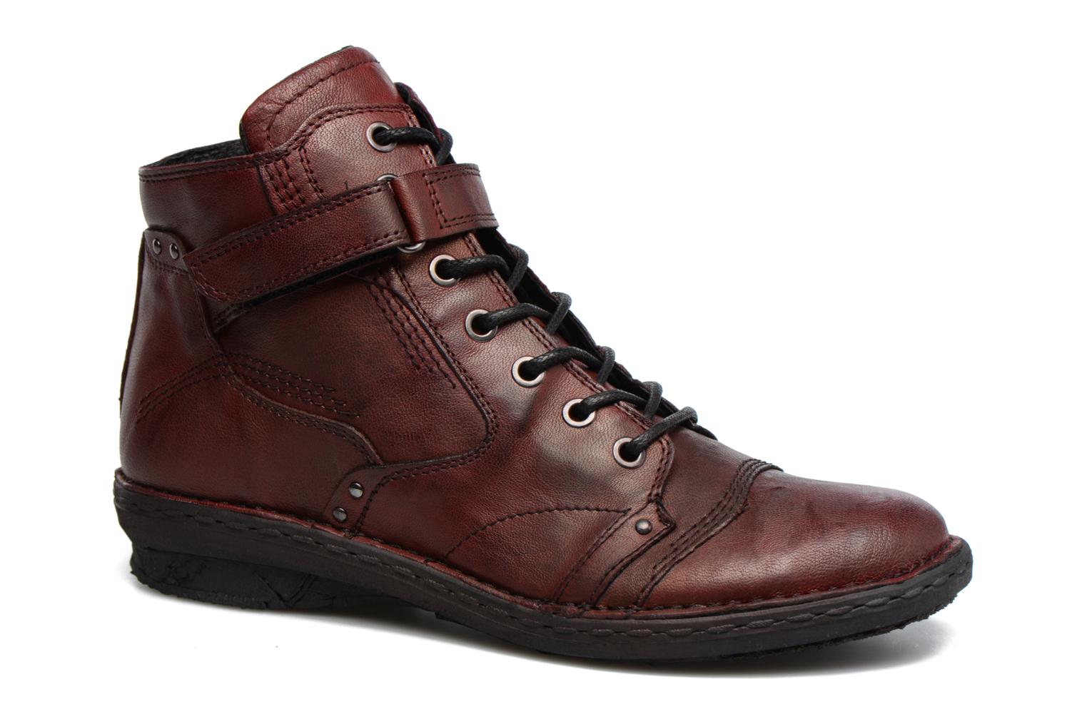Ankle boots Khrio Rehayen Burgundy detailed view/ Pair view