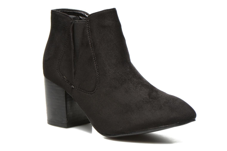 Boots en enkellaarsjes Eclipse Bottine Cally Zwart detail