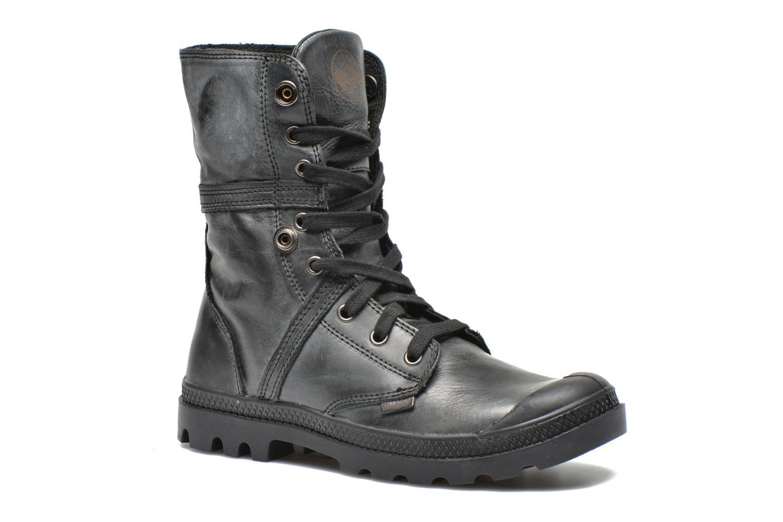 Sneaker Palladium Pallabrousse Baggy L2 U W schwarz 3 von 4 ansichten