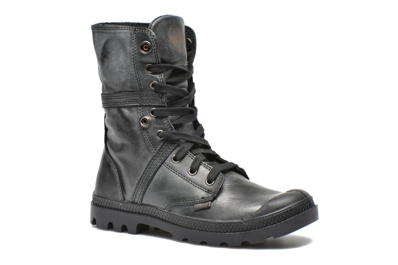 Sneakers Palladium Pallabrousse Baggy L2 U W Svart 3/4 bild