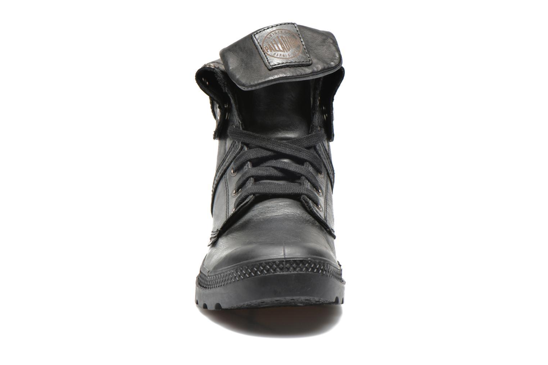 Baskets Palladium Baggy Pallab F Noir vue portées chaussures