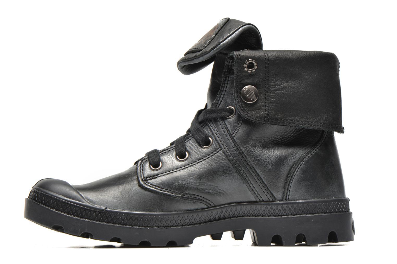 Sneaker Palladium Pallabrousse Baggy L2 U W schwarz ansicht von vorne