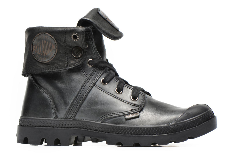 Sneaker Palladium Pallabrousse Baggy L2 U W schwarz ansicht von hinten