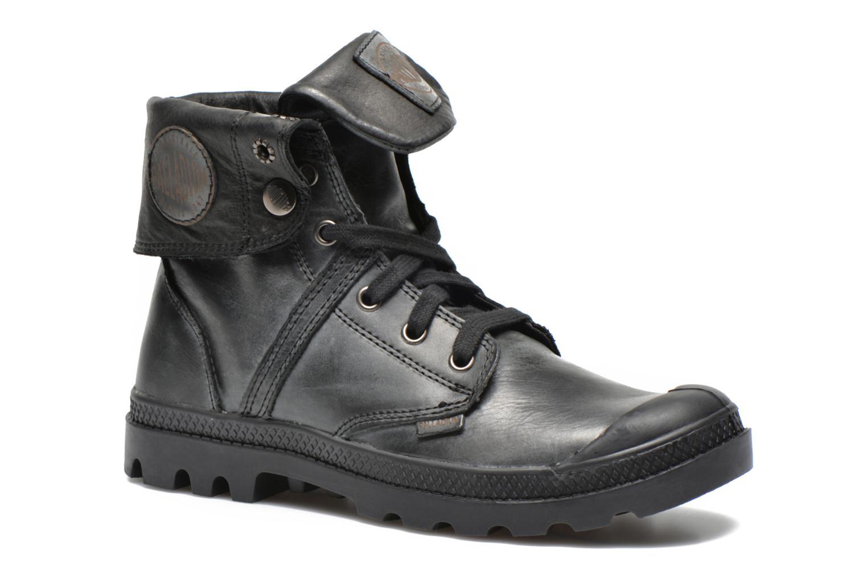 Sneakers Palladium Pallabrousse Baggy L2 U W Svart detaljerad bild på paret