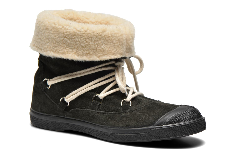 Bottines et boots Bensimon Boot Mountain Gris vue détail/paire