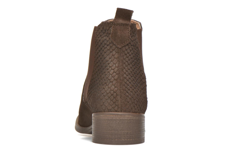 Bottines et boots Bensimon Boots Elastiques Marron vue droite
