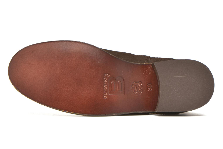 Bottines et boots Bensimon Boots Elastiques Marron vue haut