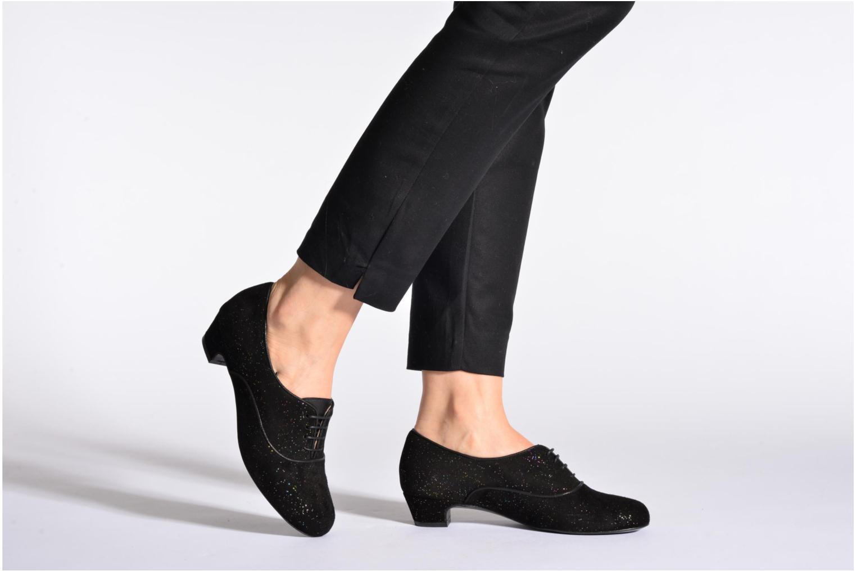 Chaussures à lacets Annabel Winship Quenouile Noir vue bas / vue portée sac