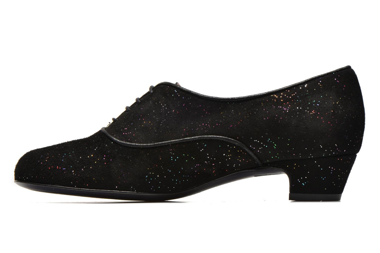 Chaussures à lacets Annabel Winship Quenouile Noir vue face