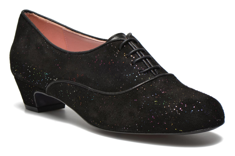 Chaussures à lacets Annabel Winship Quenouile Noir vue détail/paire