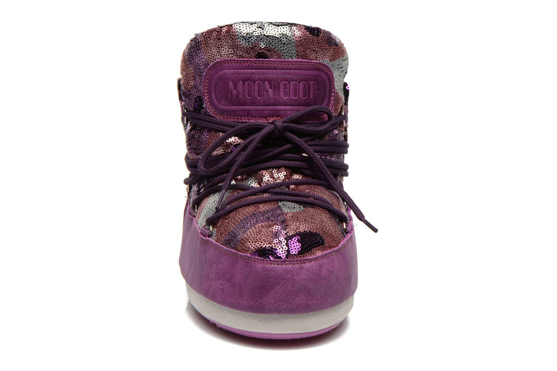 Stiefeletten & Boots Moon Boot Buzz Paillettes rosa schuhe getragen