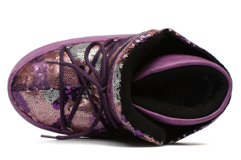 Boots en enkellaarsjes Moon Boot Buzz Paillettes Roze links