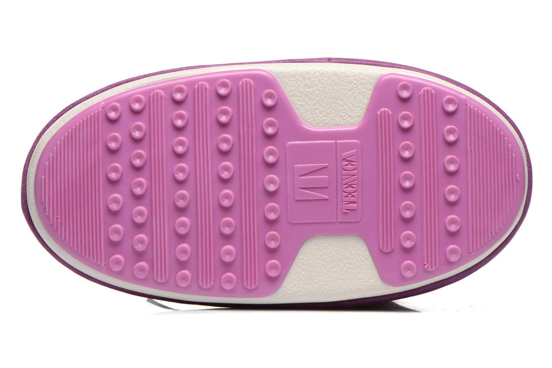 Ankelstøvler Moon Boot Buzz Paillettes Pink se foroven