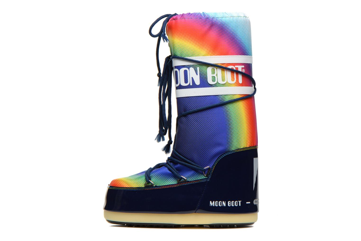 Chaussures de sport Moon Boot Rainbow 2.0 Multicolore vue face