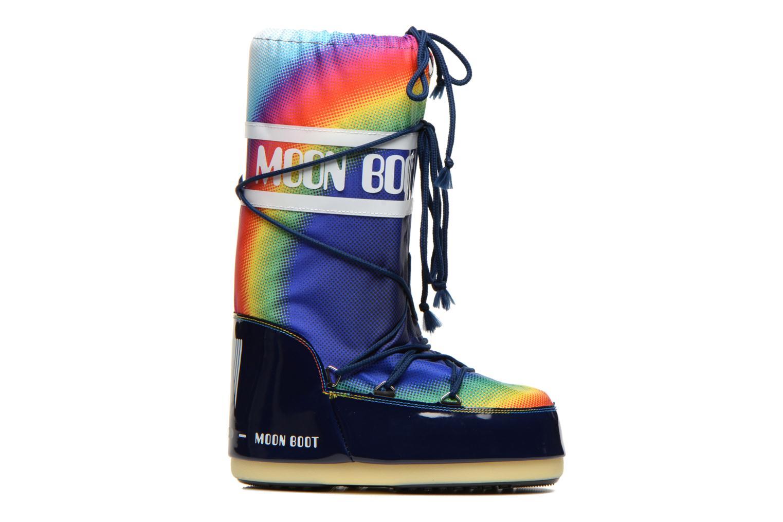 Sportschoenen Moon Boot Rainbow 2.0 Multicolor achterkant
