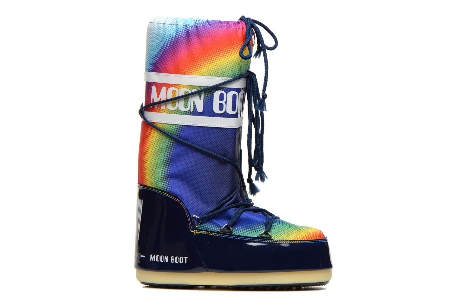 Sport shoes Moon Boot Rainbow 2.0 Multicolor back view