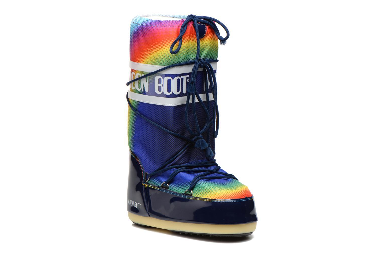 Sportssko Moon Boot Rainbow 2.0 Multi detaljeret billede af skoene